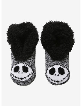 The Nightmare Before Christmas Slip On Jack Skellington Cozy Slippers by Hot Topic