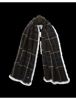 Oversize Plaid Blanket Wrap by Ralph Lauren