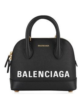 Xxs Leather Top Handle Bag by Balenciaga