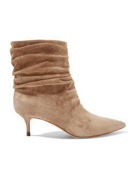 Cecile 55 Suede Ankle Boots by Gianvito Rossi