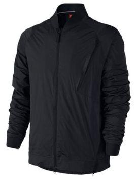 Nike Tech Hypermesh Varsity Jacket   Men's by Nike