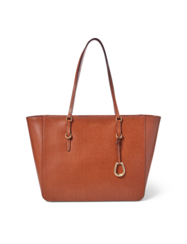 Saffiano Leather Tote by Ralph Lauren