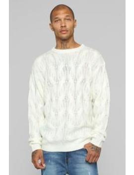 Henderson Pullover Sweater   Cream by Fashion Nova