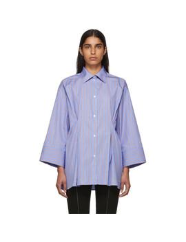 Blue & Red Striped Sedona Shirt by TotÊme