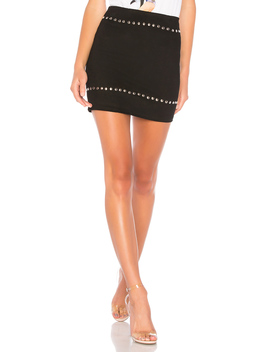 Kole Studded Mini Skirt by By The Way.