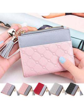 New Short Women Wallet Purse Card And Cash Holder Organizer Small Zipper Wallet by Ebay Seller
