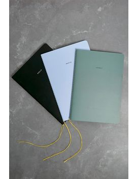 The School Of Life Minimalist Set Of 3 Notebooks by The School Of Life