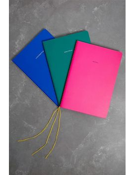 The School Of Life Pop Art Set Of 3 Notebooks by The School Of Life