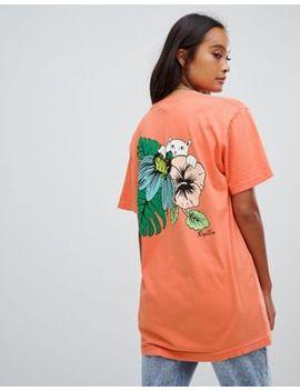 Ripndip   T Shirt Décontracté Avec Motif Tropical Dans Le Dos by Rip N Dip