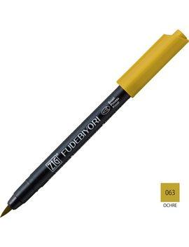 1pc Japan Kuretake 57 Metallic Marker Brush Pen Soft Mark Pen Fudebiyori Brushlettering Painting Supplies Caligraphy Pens by Ali Express