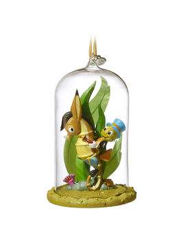Jiminy Cricket Glass Dome Sketchbook Ornament   Pinocchio by Disney