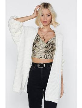 Knit Happens To The Best Of Us Bobble Cardigan by Nasty Gal