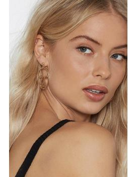 Just Face It Earrings by Nasty Gal
