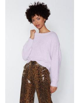 Fluff Around The Edges Sweater by Nasty Gal