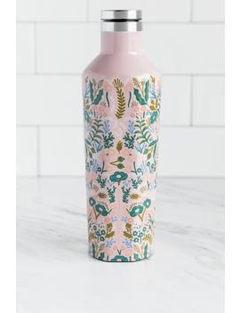 Corkcicle X Rifle Paper Co. Rose Tapestry Canteen by Francesca's