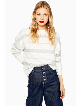 Super Soft Stripe Jumper by Topshop