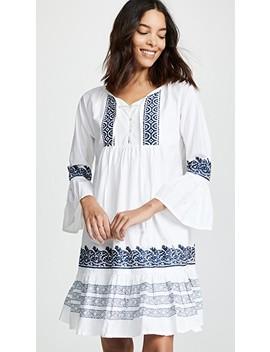 Mona Border Maricruz Dress by Roller Rabbit