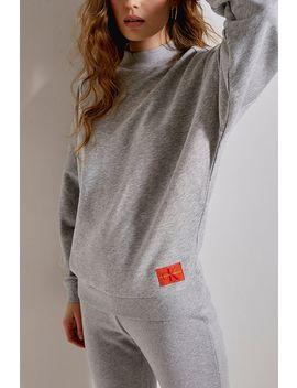 Calvin Klein   Sweatshirt à Logo Monogramme by Calvin Klein