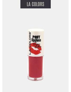 L.A. Colors   Pout Shine Lipgloss Hot Lips by La Colors