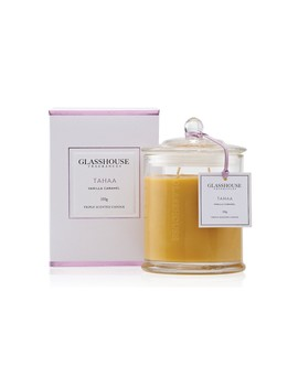 Triple Scented Candle Tahaa 350g by Glasshouse Fragrances