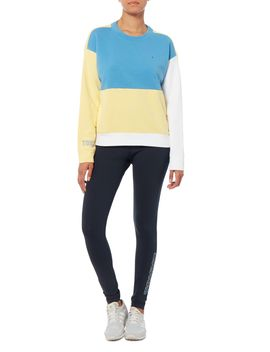 Colour Block Sweatshirt by Tommy Hilfiger