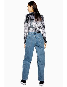 **Cargo 90s Baggy Jeans By Boutique by Topshop