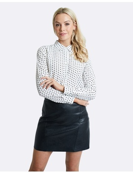 Dalmatian Silk Shirt by The Fable