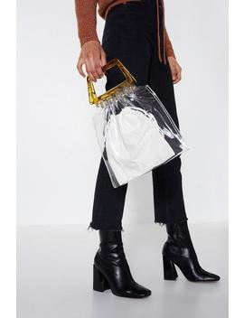Want In The Clear Tote Bag by Nasty Gal