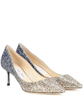 Exklusiv Bei Mytheresa – Pumps Romy 60 Mit Glitter by Jimmy Choo