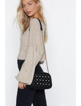 Want Mother Of Pearl Crossbody Bag by Nasty Gal