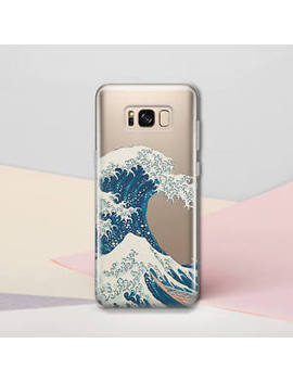 Wave Phone Case Samsung S8 S9 Plus Tpu Silicone Case S6 S7 Edge Note 7 8 Cover by Samsung