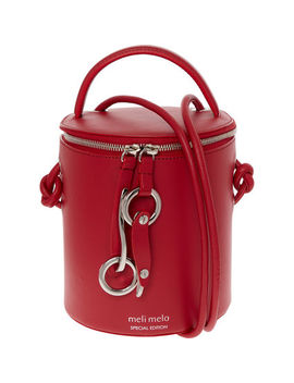 Severine Poppy Red Bag by Meli Melo