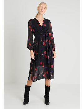 Campbell Tulip Flocked Printed Dress   Maxi Dress by Coast