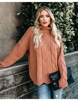 Copenhagen Knit Turtleneck Sweater by Vici