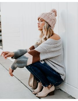 Boulder Balloon Sleeve Knit Sweater by Vici
