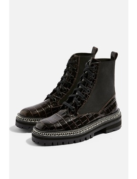 Ashton Low Ankle Boots by Topshop