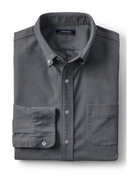 Men's Traditional Fit Comfort First Corduroy Shirt by Lands' End