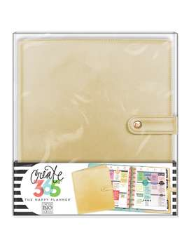 Create 365™ The Happy Planner™ Classic Deluxe Cover, Gold by Me & My Big Ideas