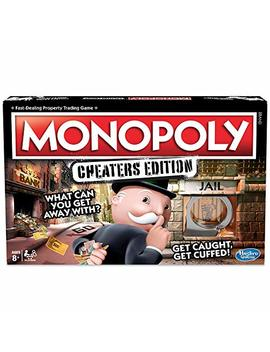 Monopoly Game Cheaters Edition Brettspiel by Amazon