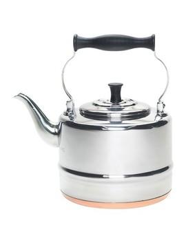 Bon Jour Tea 2 Qt. Stainless Steel Teakettle by Bonjour