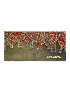Atlanta Skyline String Art   Atlanta Skyline   Atlanta Art by Etsy