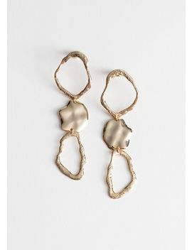 Sculptural Hanging Earrings by & Other Stories