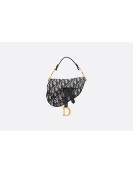 Mini Dior Oblique Saddle Tas by Dior