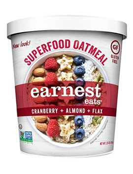 Earnest Eats Gluten Free Oatmeal With Superfood Grains, Quinoa, Oats And Amaranth    American Blend   (Case Of 12   Single Serve Cups) by Earnest Eats