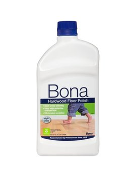 Bona® Hardwood Floor Polish   High Gloss by Bona