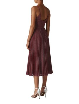 Regina Sparkle Pleated Dress by Whistles