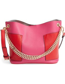 Bettie Faux Leather Bucket Bag by Steve Madden