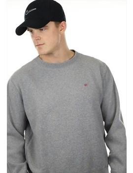 Vintage Polo Ralph Lauren Sweatshirt Grey by Ralph Lauren
