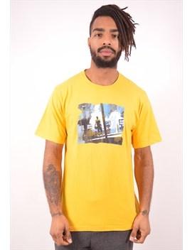 Nike Mens Vintage T Shirt Top Medium Yellow 90s by Nike