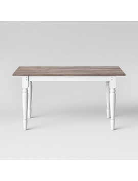 Bridgewater Farmhouse Turned Leg Table   Threshold™ by Shop Collections